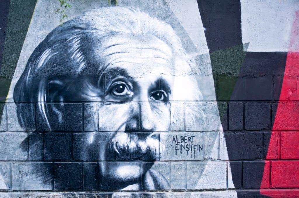 Grafiti von A. Einstein