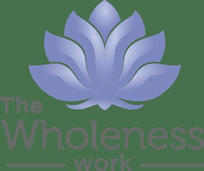 Hier ist das Logo von The Wholeness Work zu sehen