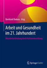 Buchcover Arbeit und Gesundheit im 21. Jahrhundert