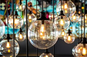 Verschiedene Lampen - Resilienz und Beleuchtung