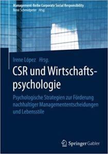 Buchcover CSR und Wirtschaftspsychologie
