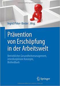 Buchcover Prävention von Erschöpfung in der Arbeitswelt