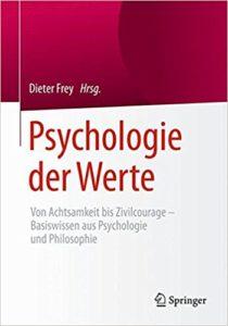 Buchcover Psychologie der Werte