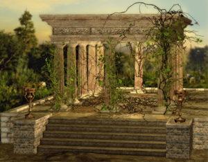 Säulen Tempel - Resilienz-Akademie