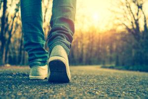 Spazieren gehen für Resilienz
