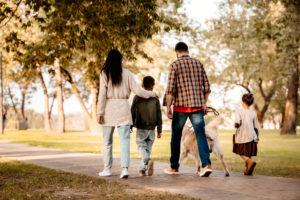 Spazieren Gehen als Gewohnheit