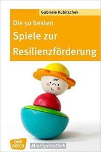 Buchcover Spiele zur Resilienzförderung