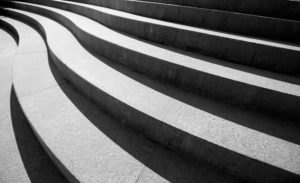 Treppenstufen - Stufen der Resilinz