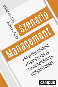 Buchcover Szenario Management