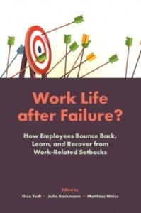 Buchcover Work Life after Failure