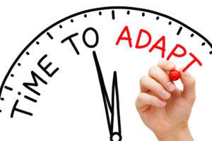 Zeit für Adaptabilität