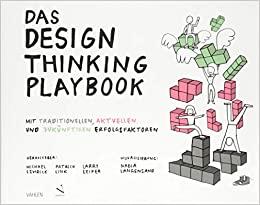 Buchcover Das Design thinking Playbook